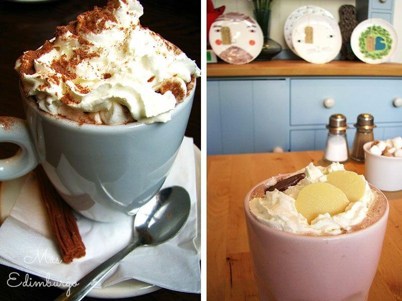 Tipos de café Hot Chocolate with Marshmallows