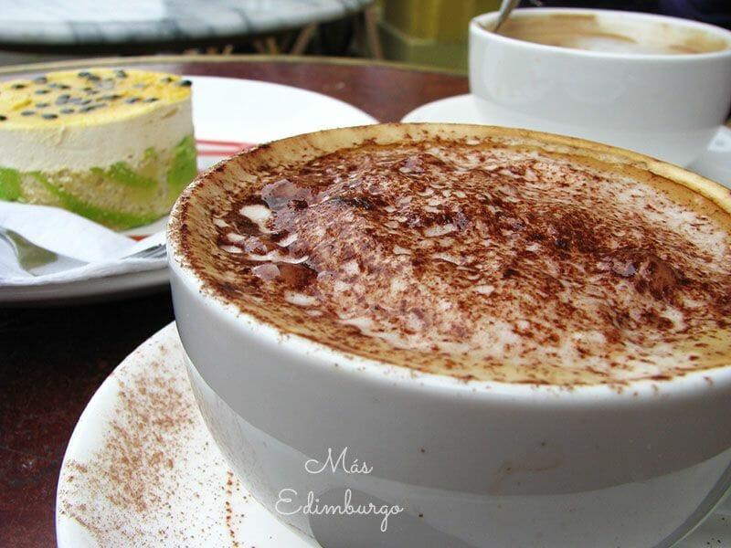 Tipos de café en Inglaterra Capuccino