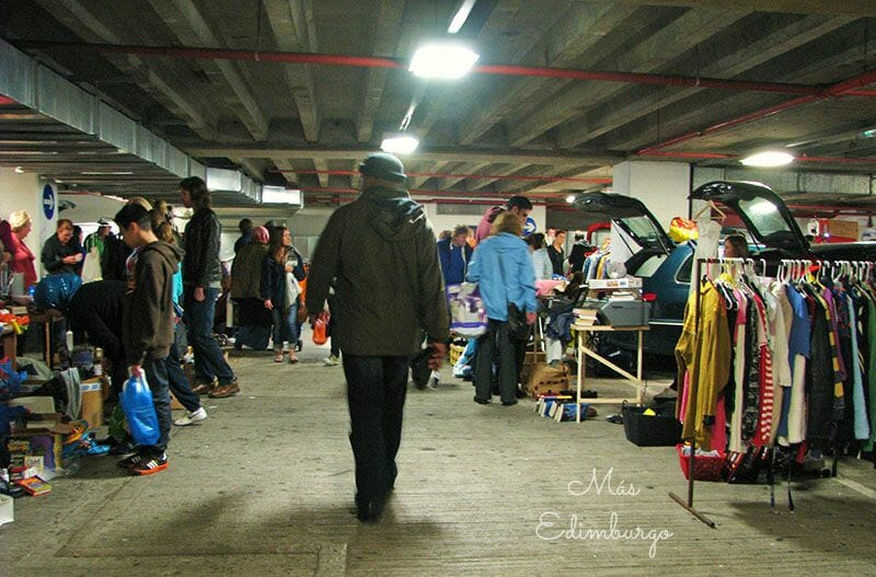 Greenside Car Boot Sale, el Sunday Market de Edimburgo