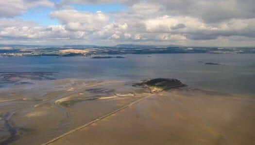 La curiosa isla de Cramond, en Edimburgo