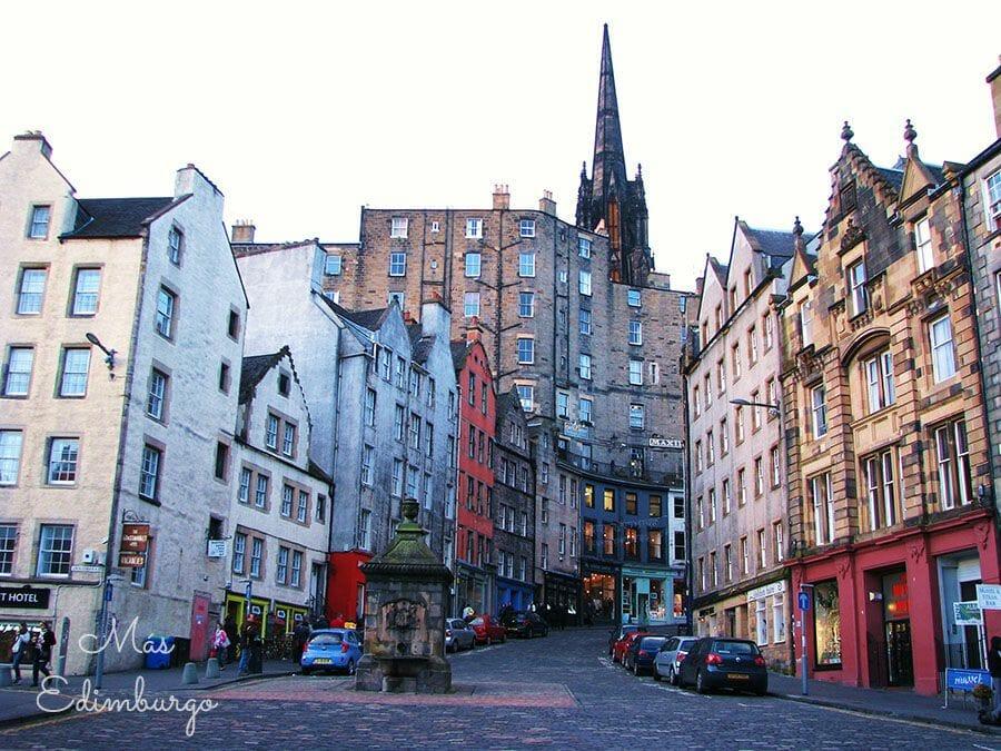 Ruta de Harry Potter y Edimburgo: la calle Victoria St