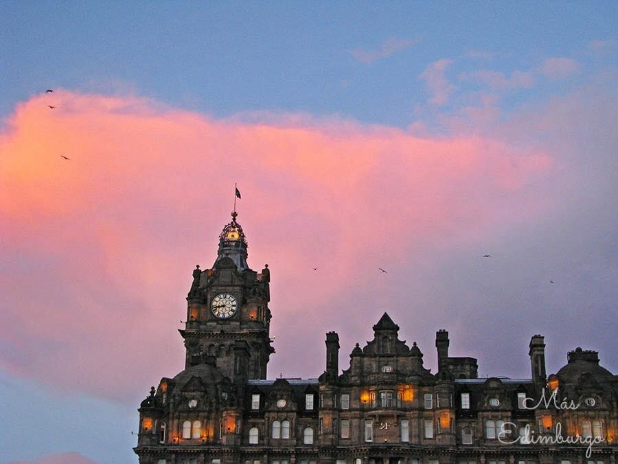 Harry Potter y Edimburgo - El Hotel Balmoral