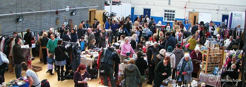 Flea Market en Out of the Blue en Edimburgo