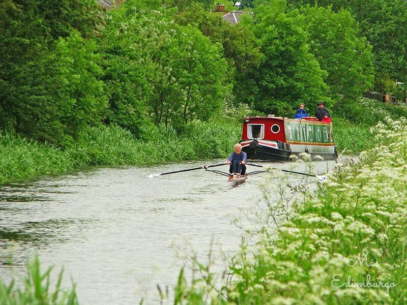 Union Canal excursion en Edimburgo 2