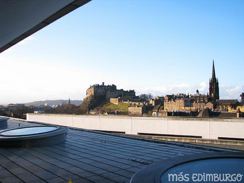 Terraza del Museo Nacional de Escocia Edimburgo (7)