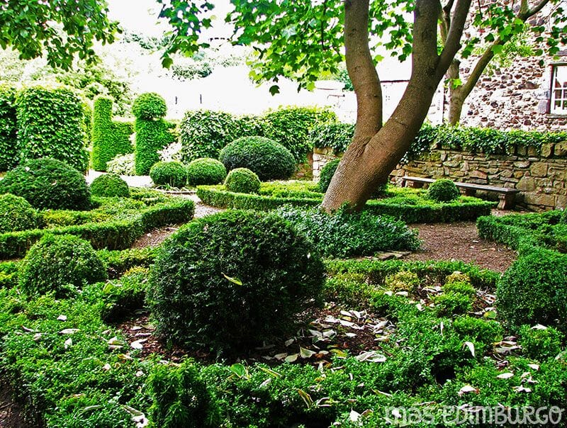 Jardines secretos de la Royal Mile Edimburgo 7