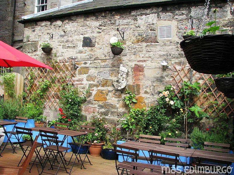 Jardines secretos de la Royal Mile Edimburgo 10