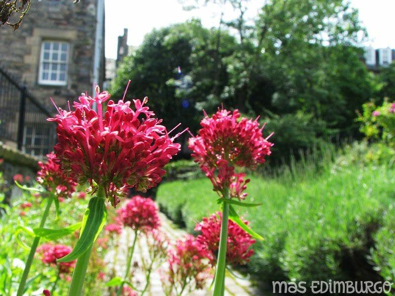 Jardin de Dunbars Close Edimburgo 4