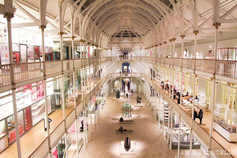 Visitar el Museo Nacional de Escocia, en Edimburgo