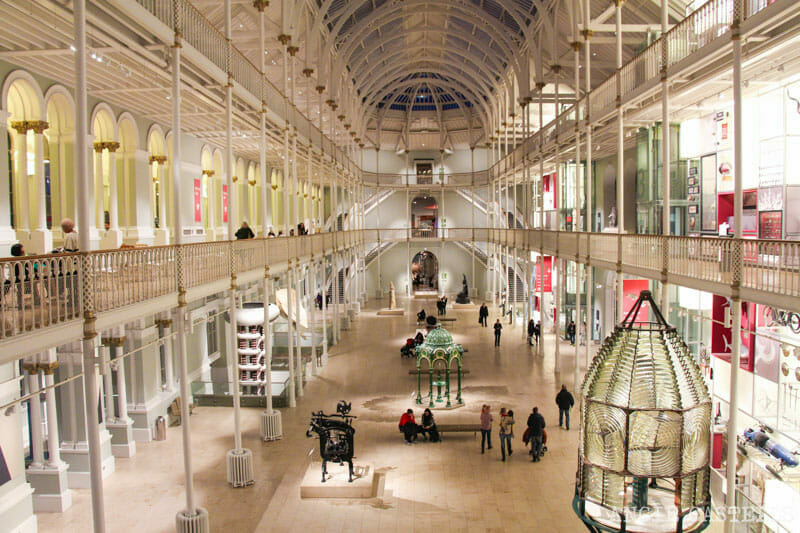 Visitar el National Museum of Scotland, en Edimburgo