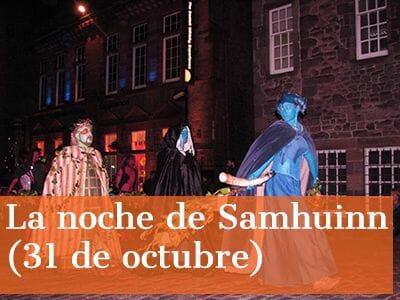 Samhuinn Halloween Edimburgo