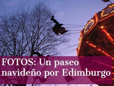Fotos de Edimburgo en Navidad