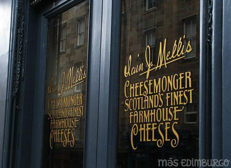 Donde comprar quesos escoceses Mas Edimburgo