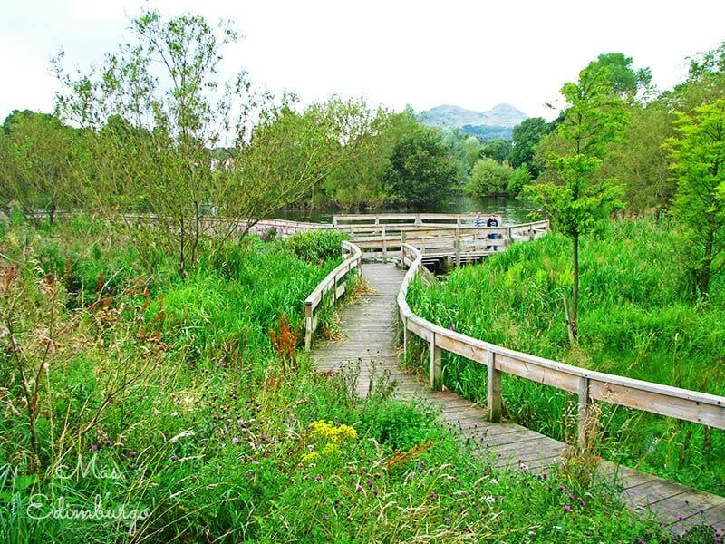 El parque de Figgate Edimburgo