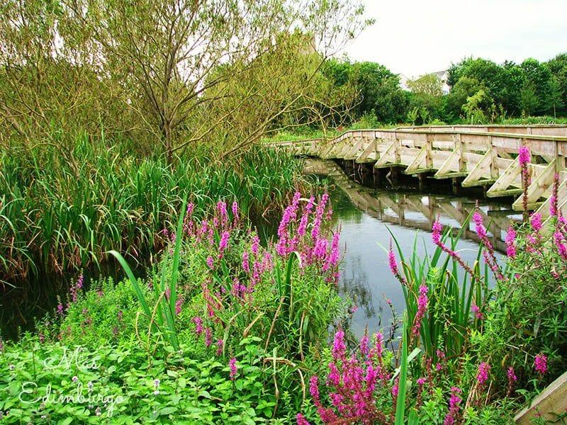 El parque de Figgate y su estanque, en Edimburgo