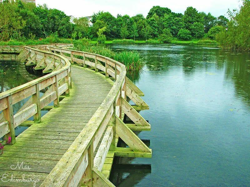 El parque de Figgate Edimburgo 6