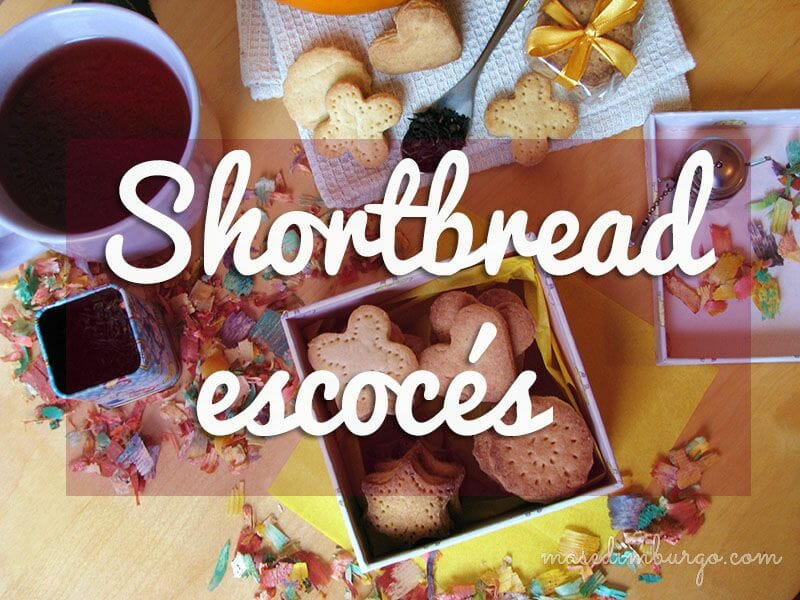 Receta de shortbread, galletas escocesas de mantequilla