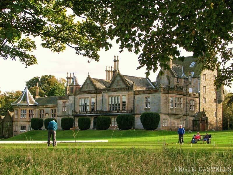 El castillo de Lauriston y el jardín japonés de Edimburgo - Lauriston Castle