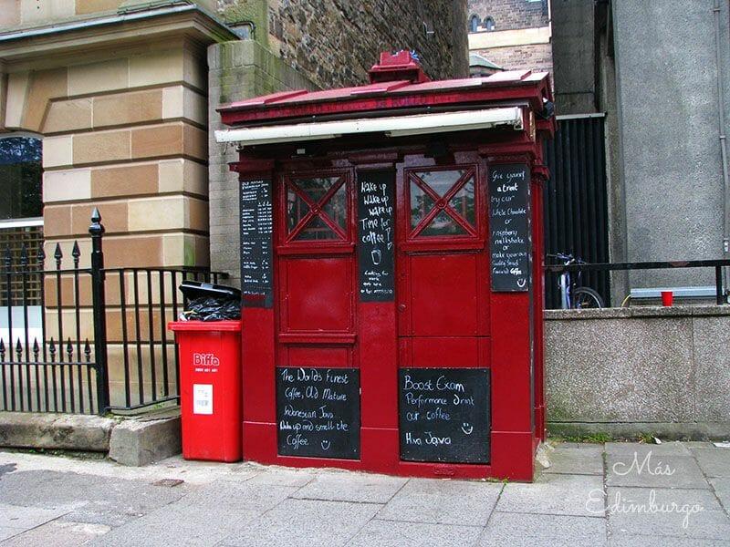 Cabinas de policía en Edimburgo Escocia2