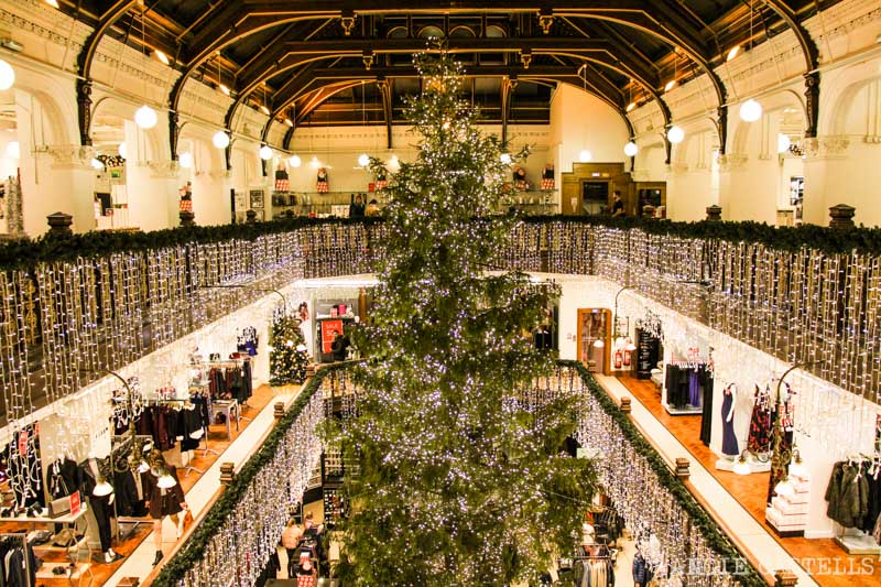 Las Navidades en Edimburgo: el árbol de Jenner's