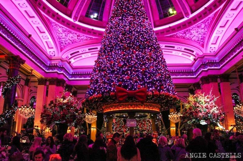 Las Navidades en Edimburgo: decoraciones de The Dome