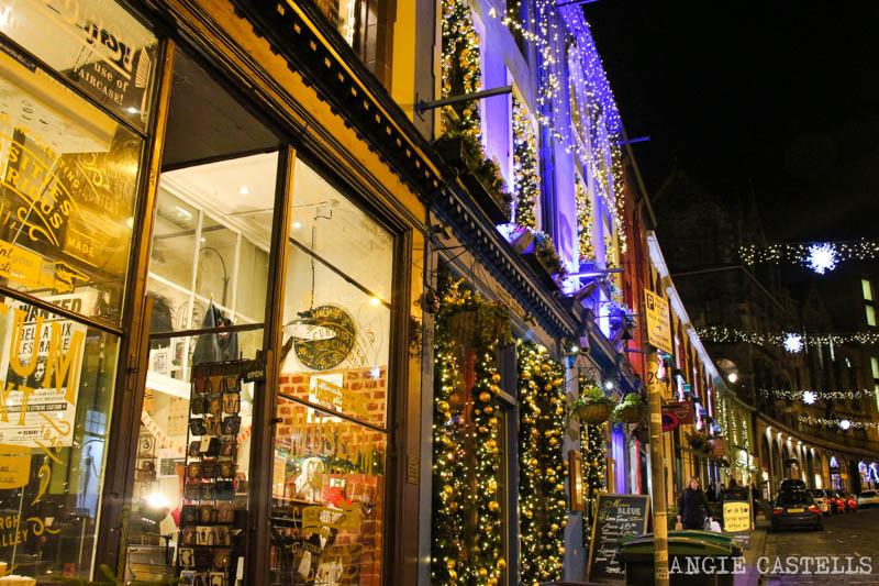 Las Navidades en Edimburgo: Victoria Street