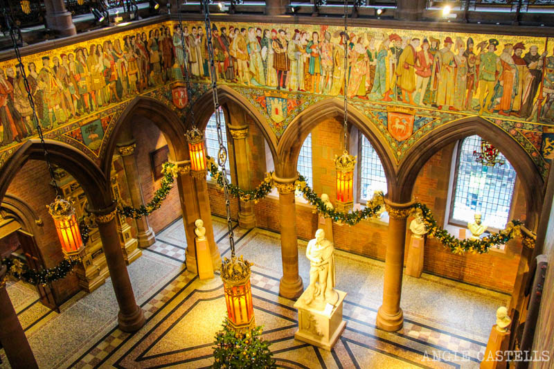 Las Navidades en Edimburgo: National Portrait Gallery