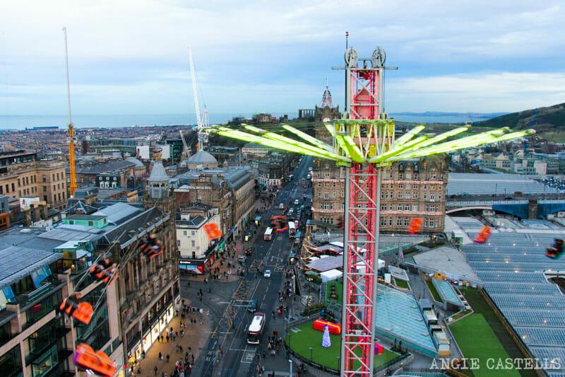 Las Navidades en Edimburgo - Atracciones Star Flyer