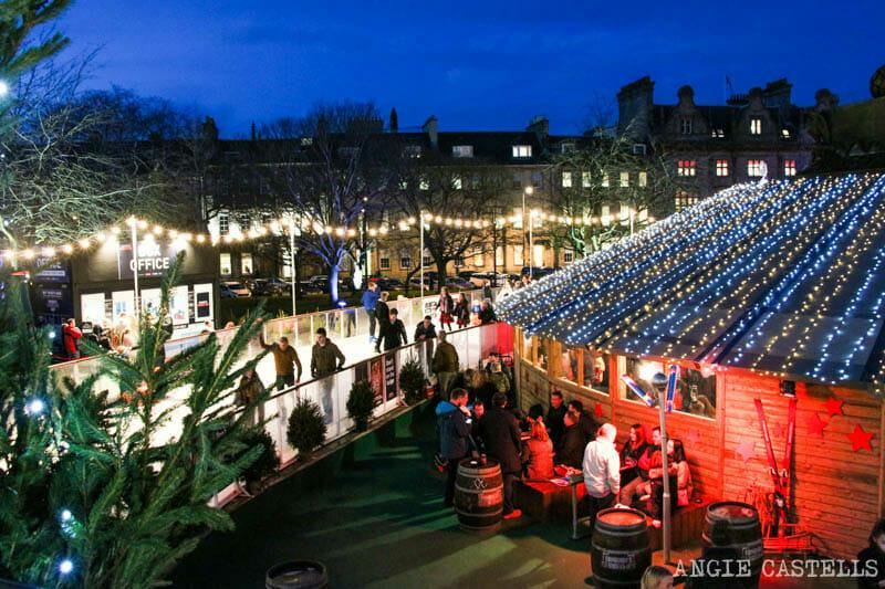 Las Navidades en Edimburgo - Patinaje sobre hielo