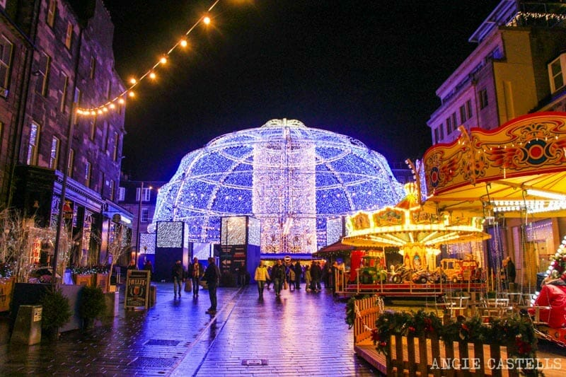 Las Navidades en Edimburgo - Christmas Market George St