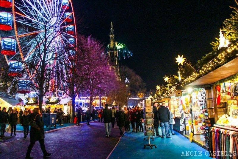 Las Navidades en Edimburgo - Los mercadillos navideños