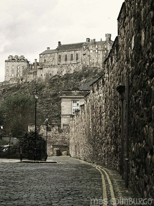 Las murallas de Edimburgo