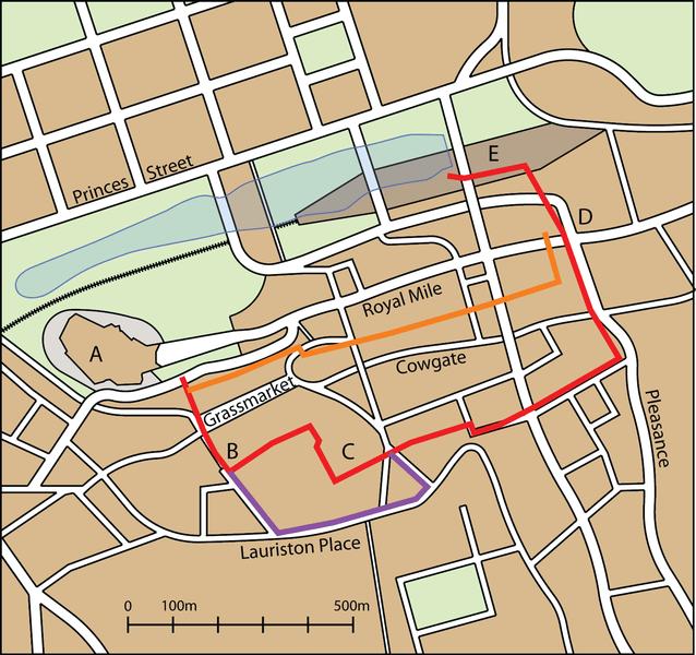 Las murallas de Edimburgo 3