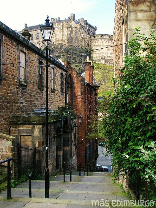 Las murallas de Edimburgo: The Vennel, en la Old Town
