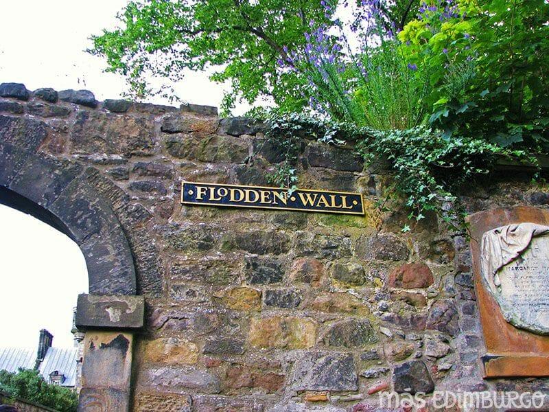 Las murallas de Edimburgo: la Flodden Wall, en el cementerio de Greyfriars