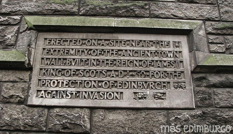 Las murallas de Edimburgo 6