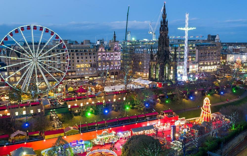Guia de las Navidades en Edimburgo