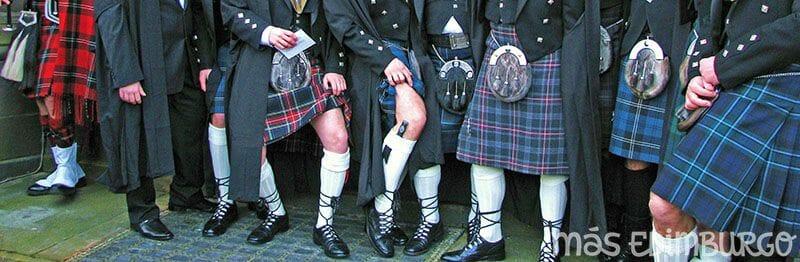 El kilt escoces y graduacion Edimburgo 4