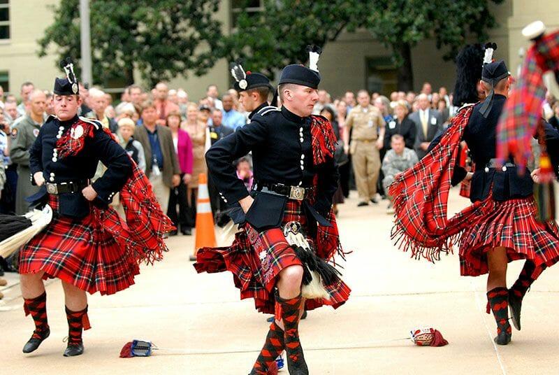 El kilt escoces y graduacion Edimburgo 5