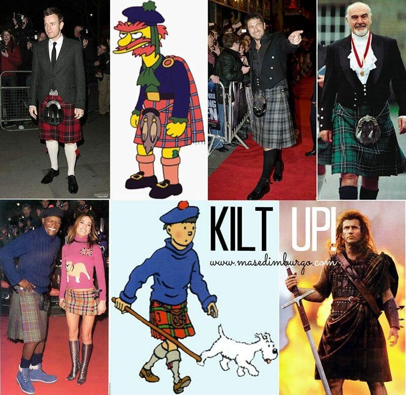 El kilt escoces y graduacion Edimburgo 6