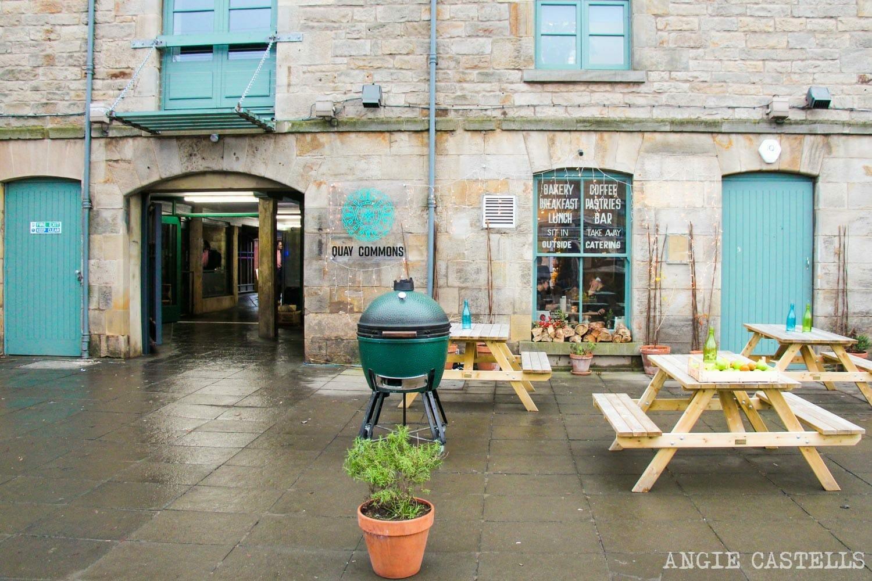 Visitar The Shore, en el barrio de Leith - El Commercial Quay