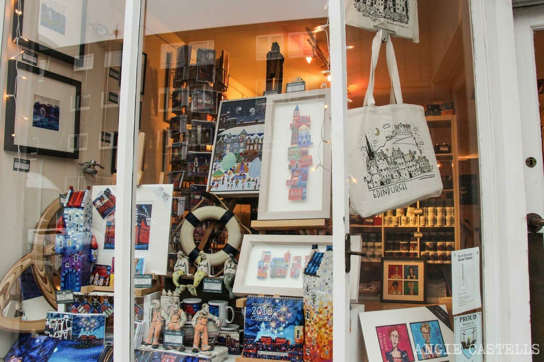 Visitar The Shore, en el barrio de Leith - Ritchie Collins Gallery