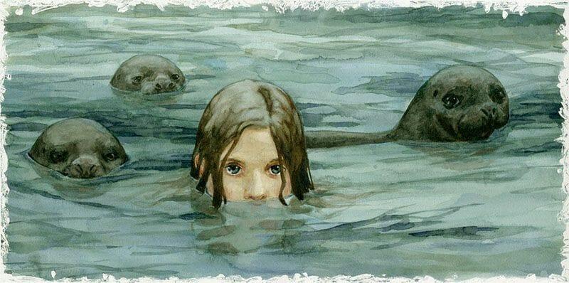Mitologia escocesa Selkie foca