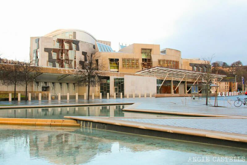 Qué hacer gratis en Edimburgo: Visita el Parlamento de Escocia