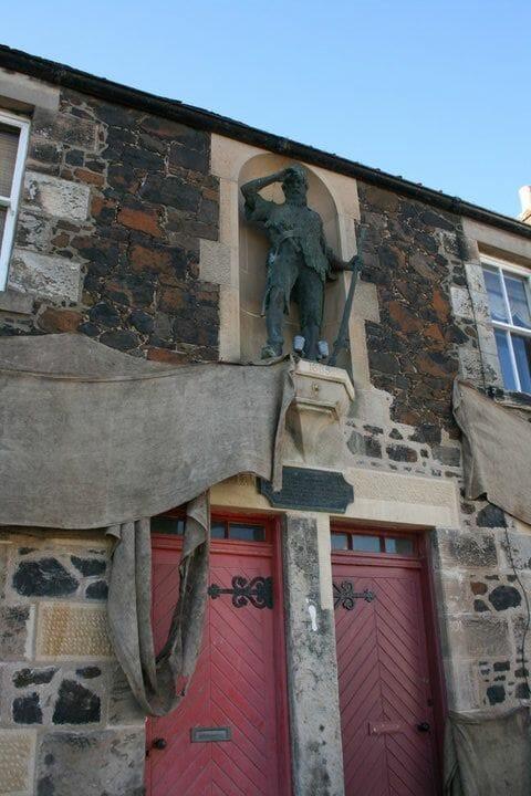 Edimburgo en la literatura Robinson Crusoe Alexander Selkirk