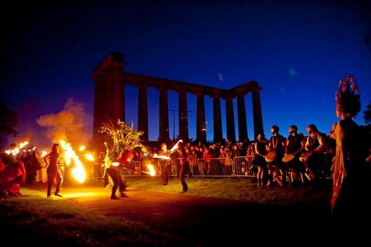 Qué hacer en Edimburgo en primavera - El Beltane Festival