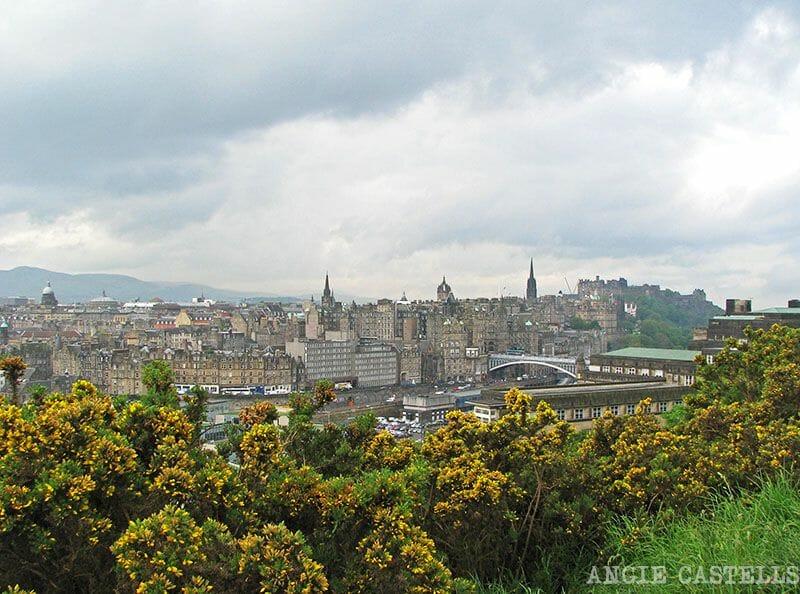 Primavera en Edimburgo Calton Hill