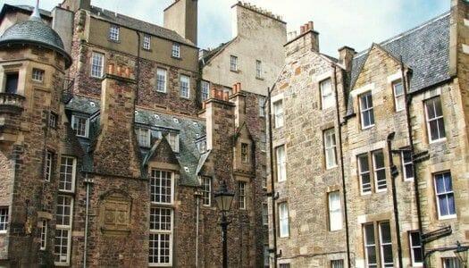 El museo de los escritores y Makar's Court, en Edimburgo