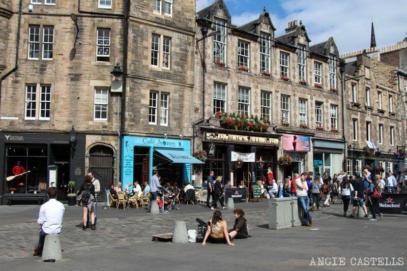Ruta por la Old Town de Edimburgo - Grassmarket