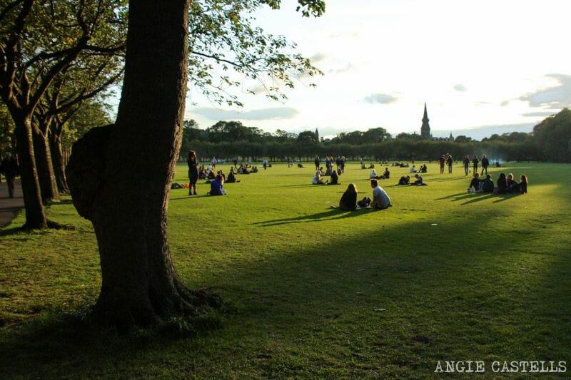 Ruta por la Old Town de Edimburgo - Parque de los Meadows